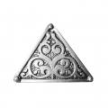 Етно-пръстен с триъгълна форма